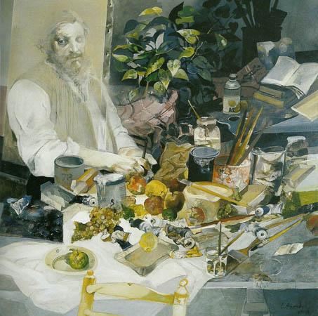 Mesa de Courbet, 1978 - Carlos Alonso