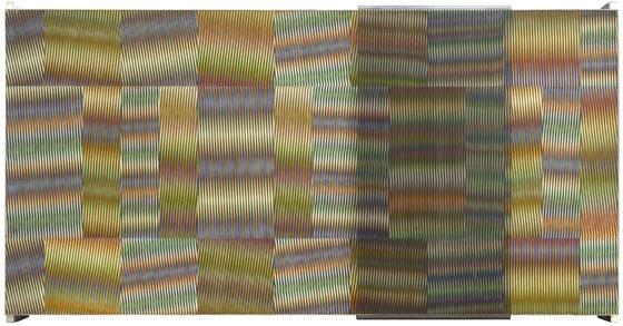 Chromointerférence Mécanique, 1966 - Carlos Cruz-Diez