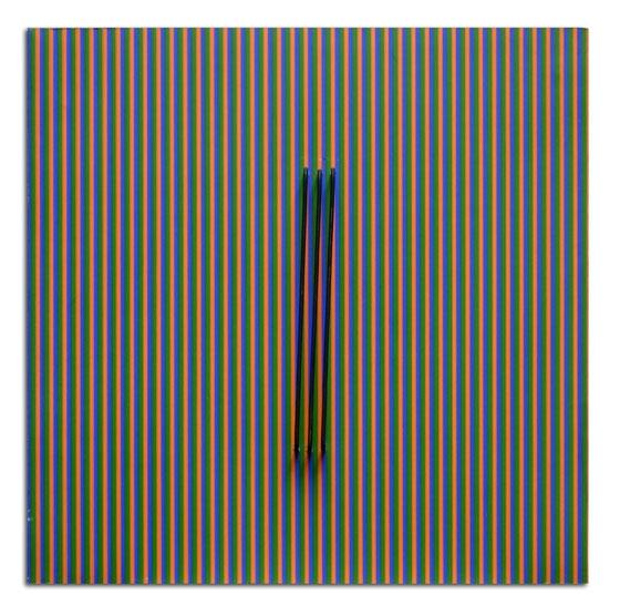 Couleur dans l'Espace, 1993 - Carlos Cruz-Diez