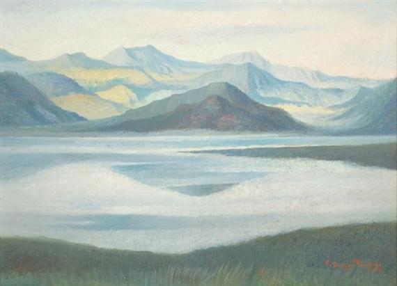 Lago de Patzcuaro, 1945 - Carlos Orozco Romero