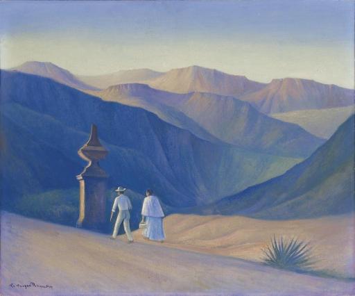 Landscape with Figures - Carlos Orozco