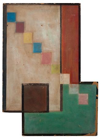 Diagonel des Carrès, 1936 - Carmelo Arden-Quin