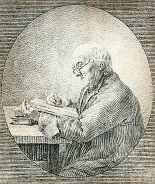 Adolf Gottlieb Friedrich, Reading, 1802 - Caspar David Friedrich