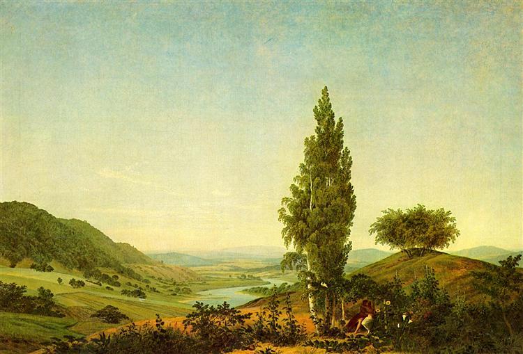 Der Sommer, 1807 - Caspar David Friedrich