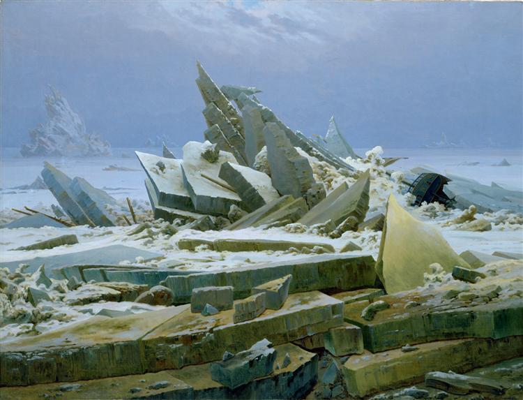 Das Eismeer, 1823 - 1824 - Caspar David Friedrich
