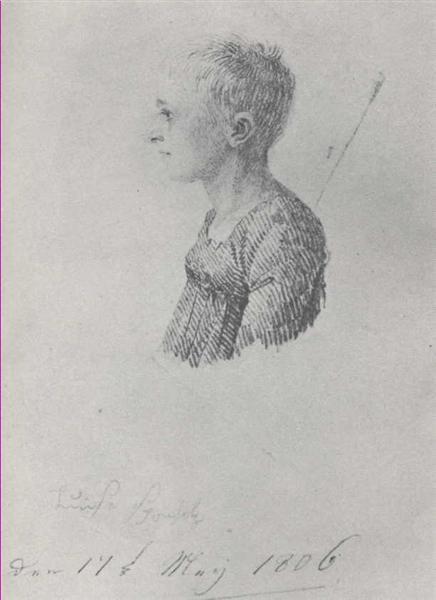 Luise Sponholz - Caspar David Friedrich