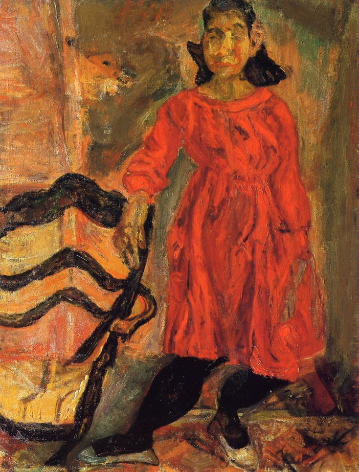 Girl In Red Chaim Soutine