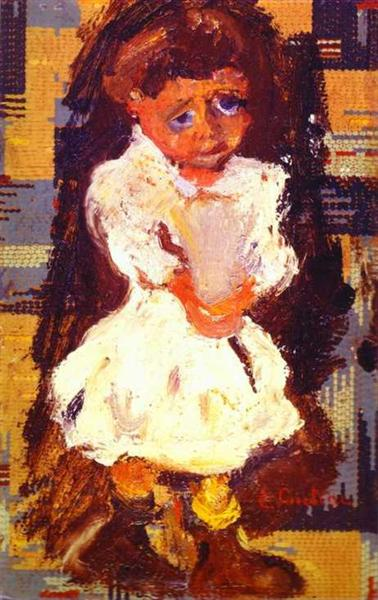 Portrait of a Child, c.1937 - Chaïm Soutine