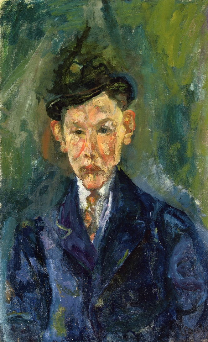 Young Man Wearing A Small Hat Chaim Soutine