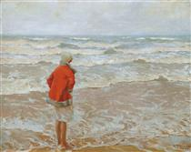 Looking out to sea - Charles Atamian