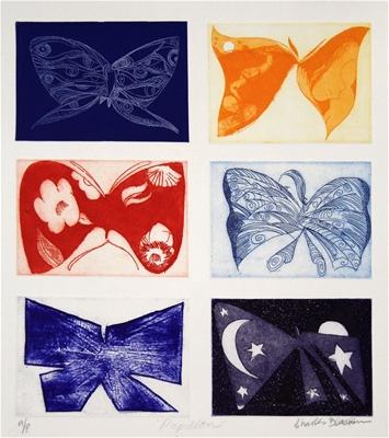Papillon - Charles Blackman
