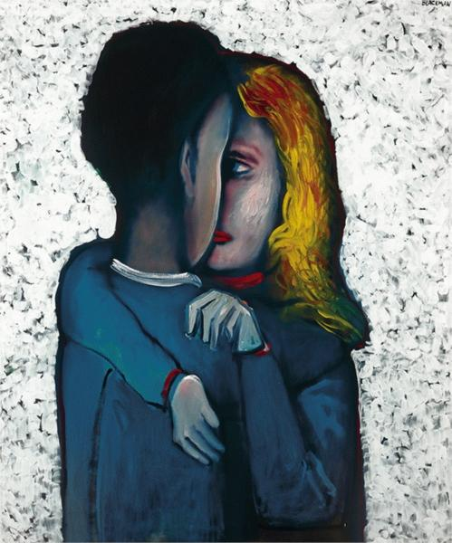 The Embrace, 1975 - Charles Blackman