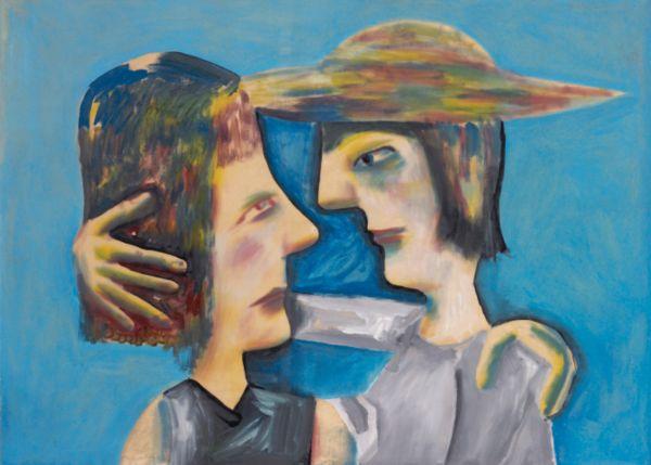 Two Schoolgirls - Чарльз Блекман