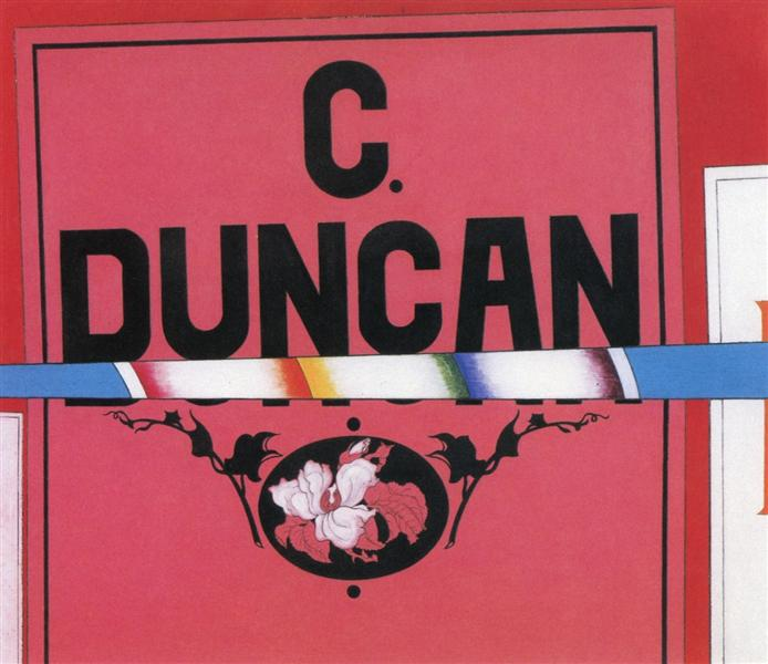 Duncan ( Charles Duncan), 1924 - 1925 - Charles Demuth