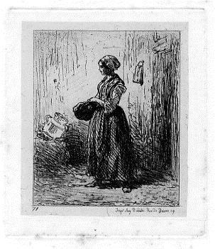Femme, 1850