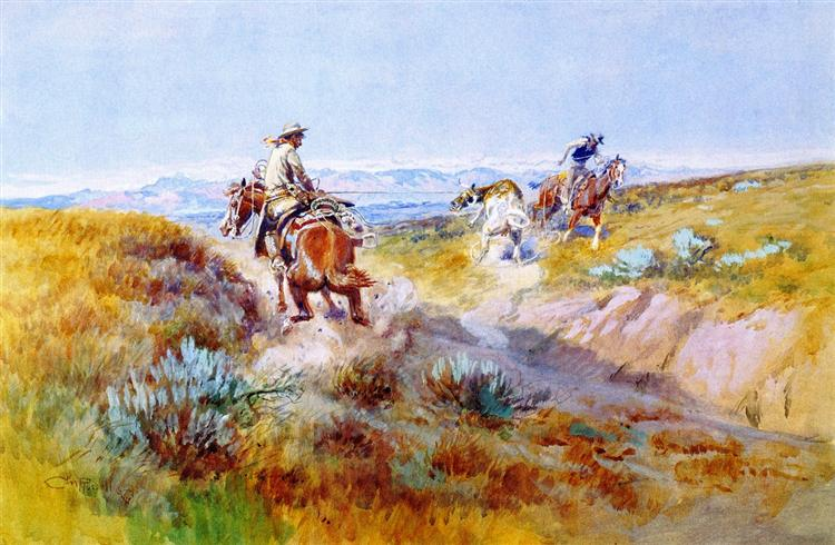 When Cows were Wild, 1936 - Charles M. Russell