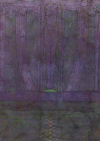 The Descent Of Night, 1894 - Charles Rennie Mackintosh