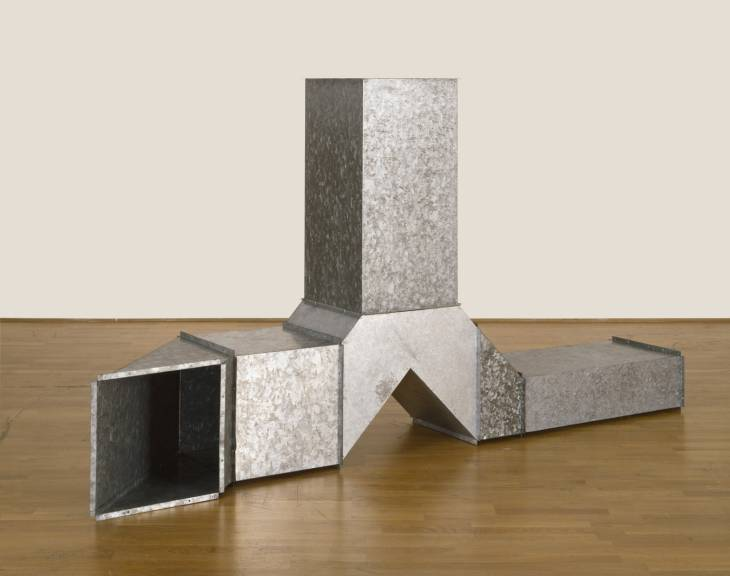 Square Tubes [Series D], 1967 - Charlotte Posenenske