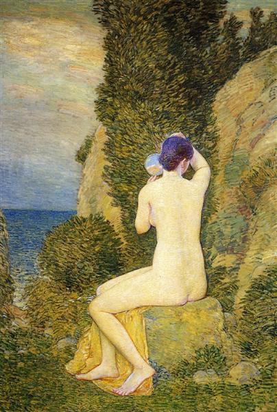 Aphrodite, Appledore, 1908 - Childe Hassam