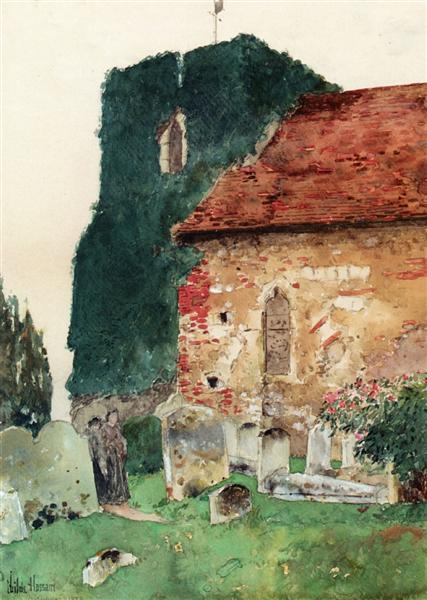 Canterbury, 1889 - Childe Hassam