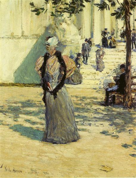 Figures in Sunlight, 1893 - Childe Hassam