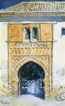 Feeding Pigeons In The Piazza Childe Hassam U2022 1883. Gate ...