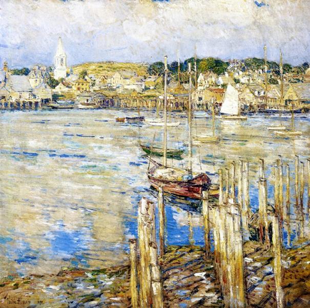 Gloucester, 1899 - Childe Hassam