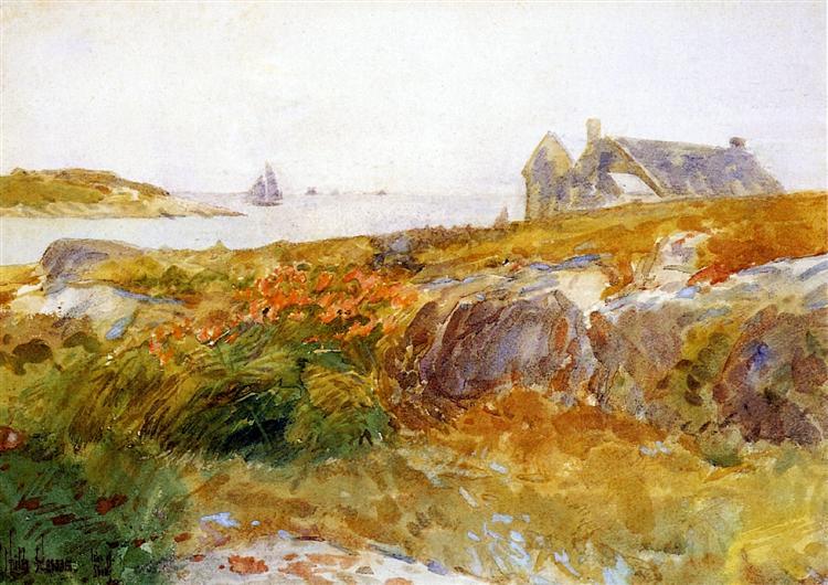 Isle of Shoals, 1890 - 1894 - Childe Hassam