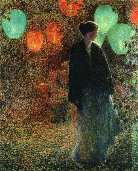 July Night, 1898 - Childe Hassam