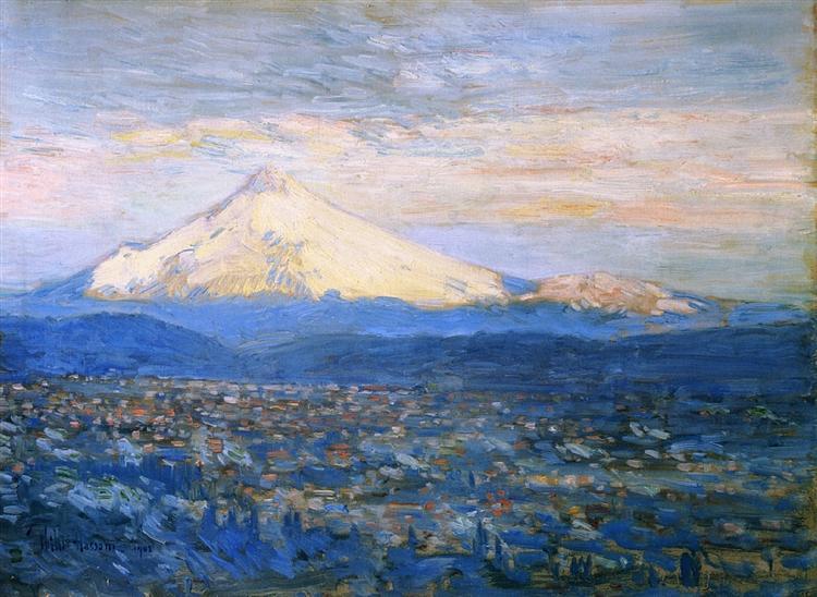 Mount Hood, 1908 - Childe Hassam