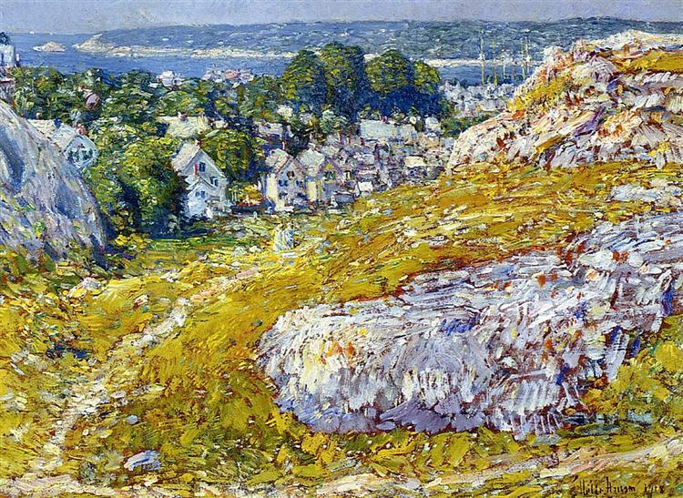 Norman's Woe, Gloucester, Massachusetts, 1918 - Childe Hassam