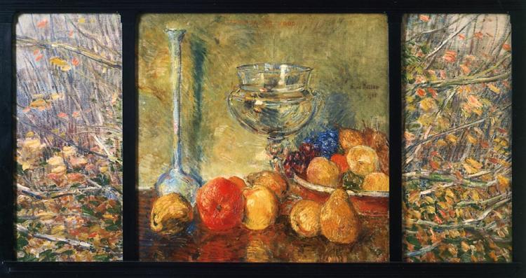 Still Life, Fruits, 1908 - Childe Hassam