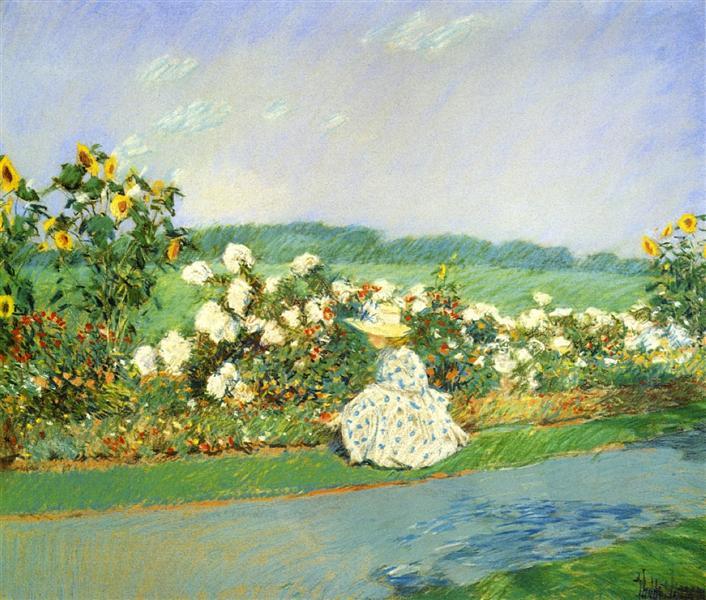 Summertime, 1891 - Childe Hassam