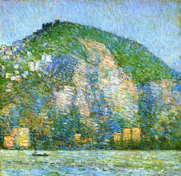 Telegraph Hill - San Fraicisco, 1914 - Childe Hassam