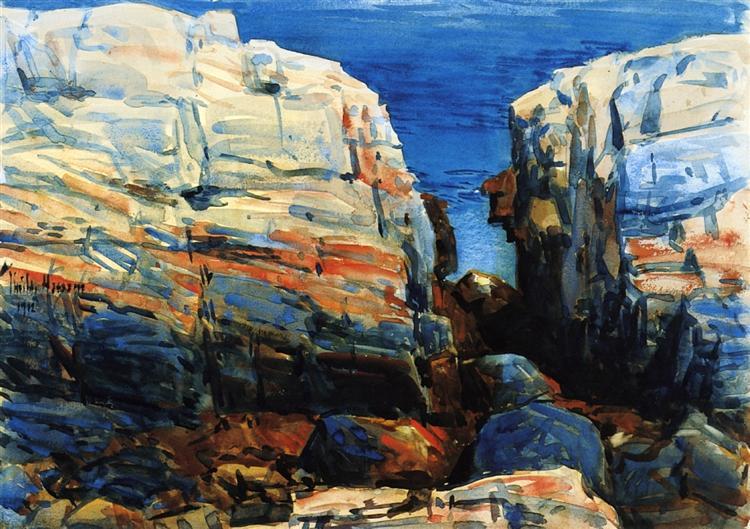 The Gorge, Appledore, c.1912 - Childe Hassam