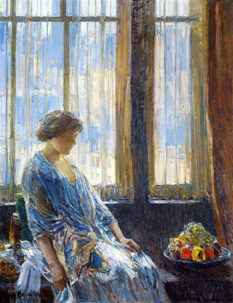 The New York Window, 1912 - Childe Hassam