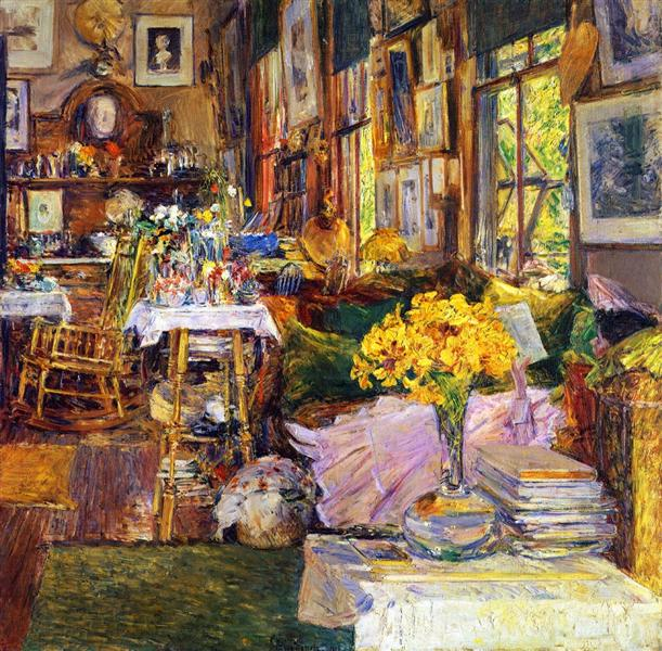 The Room of Flowers, 1894 - Childe Hassam