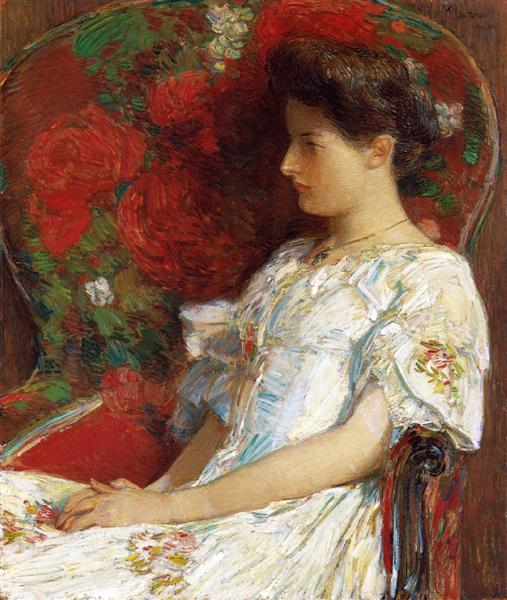 The Victorian Chair, 1906 - Childe Hassam