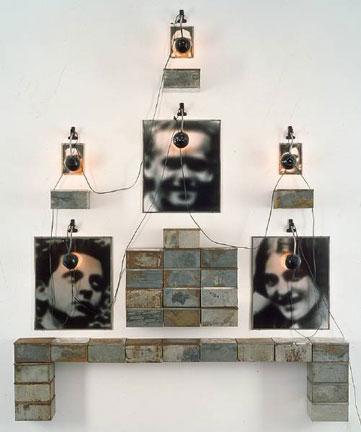Altar to Chases High School, 1988 - Christian Boltanski