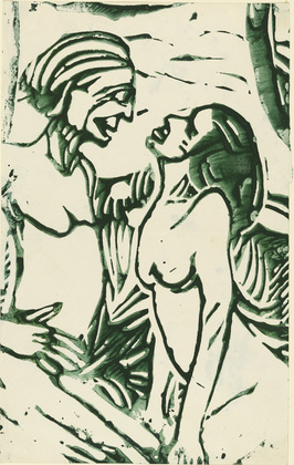 Conversation, 1909 - Christian Rohlfs