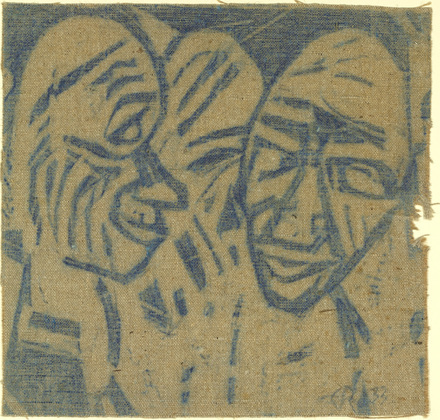 Large Heads (2 Heads I) - Christian Rohlfs