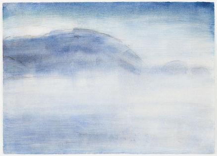 Weißer Nebel überm See - Christian Rohlfs