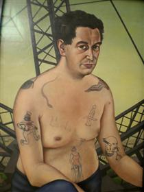 Portrait of Egon Erwin - Крістіан Шад