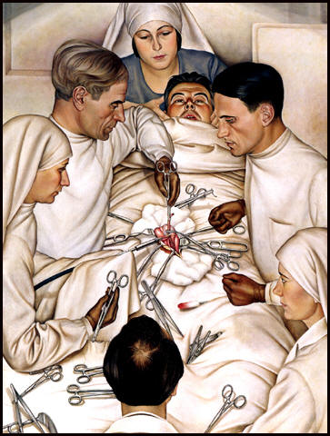 The Operation by Christian Schad (1929)