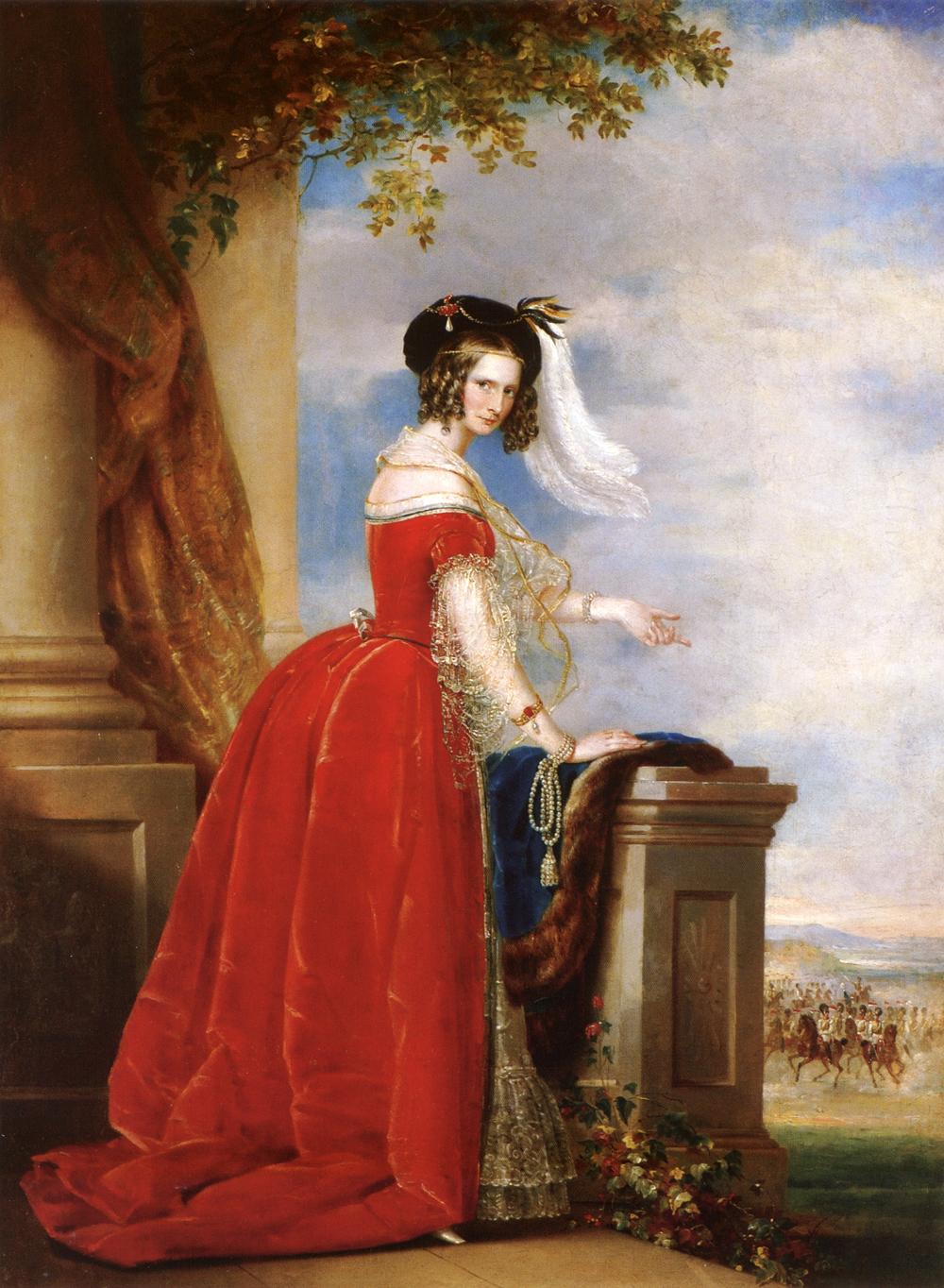Alexandra Feodorovna (Charlotte of Prussia), 1845