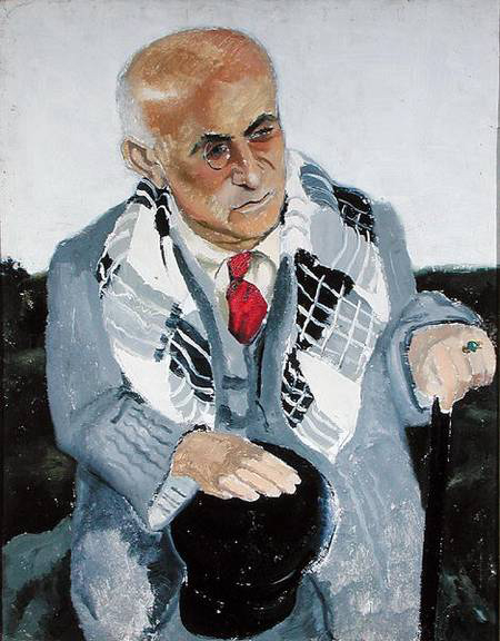 Portrait de Max Jacob, 1930 - Christopher Wood