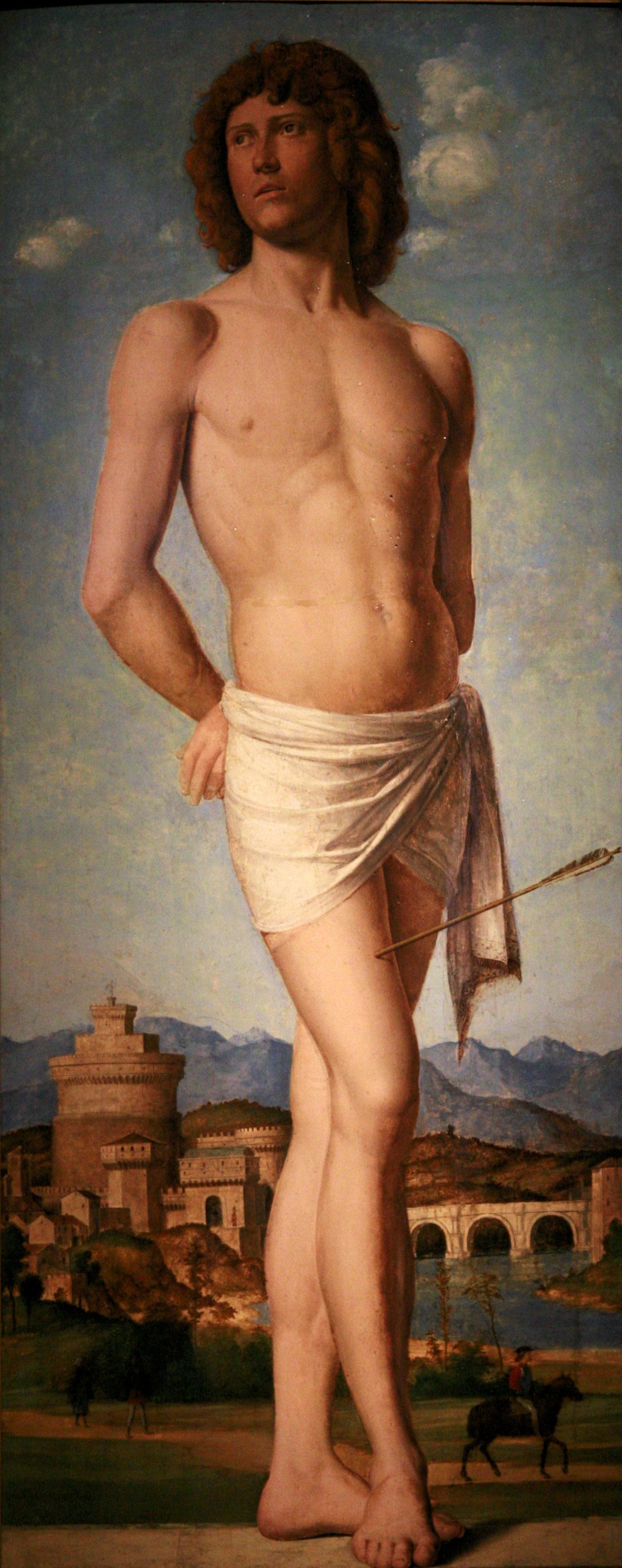 Saint Sebastian, 1502