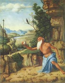 St. Jerome in a Landscape - Cima da Conegliano