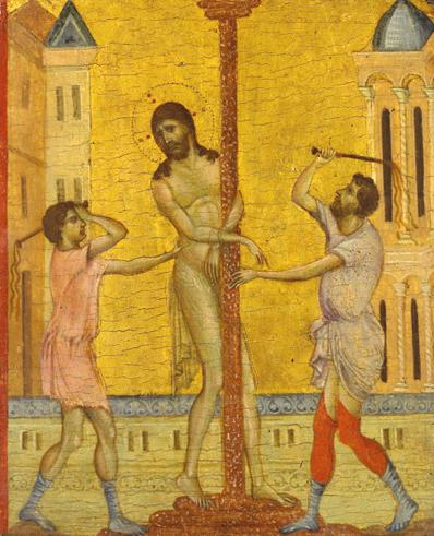 The Flagellation of Christ, 1280 - Cimabue