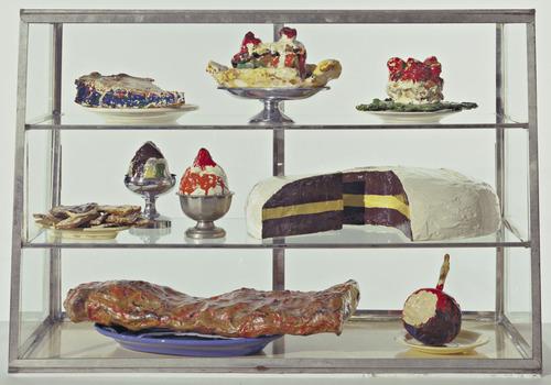 Pastry Case, I, 1962 - Claes Oldenburg